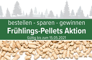 Frühlings-Pellets Aktion 2019